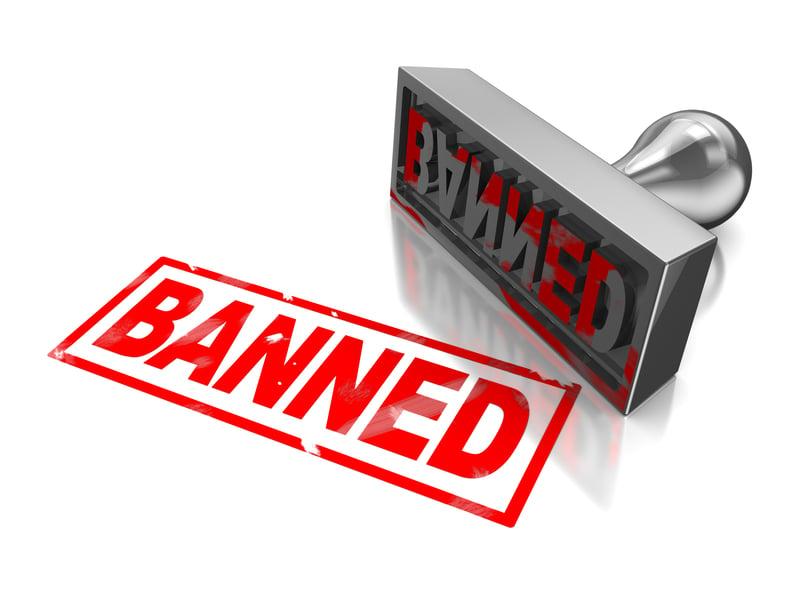Banning bad customers ID 25942476 © Madmaxer