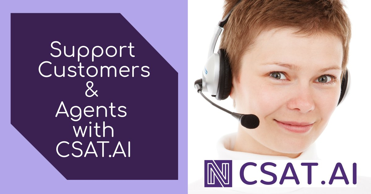 Customer Service Support with CSAT.AI